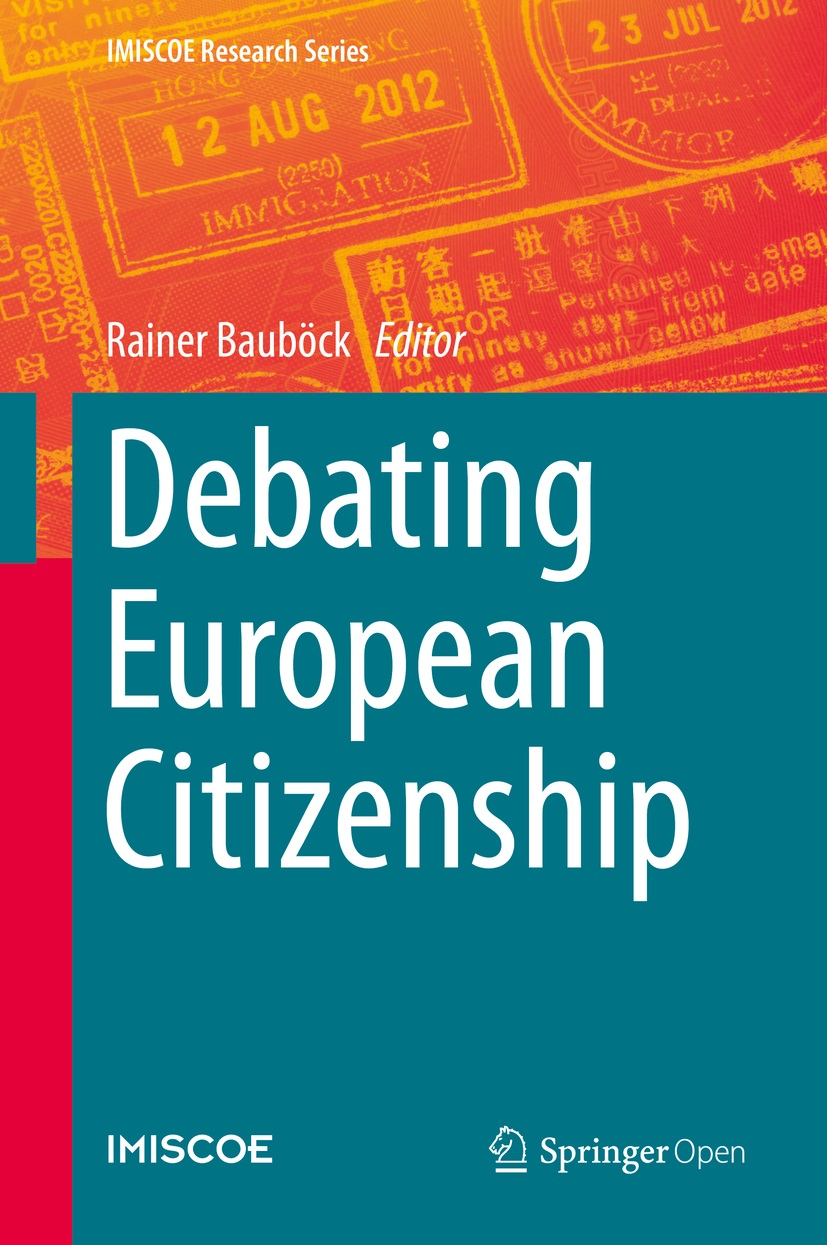 Cover of Debating European Citizenship