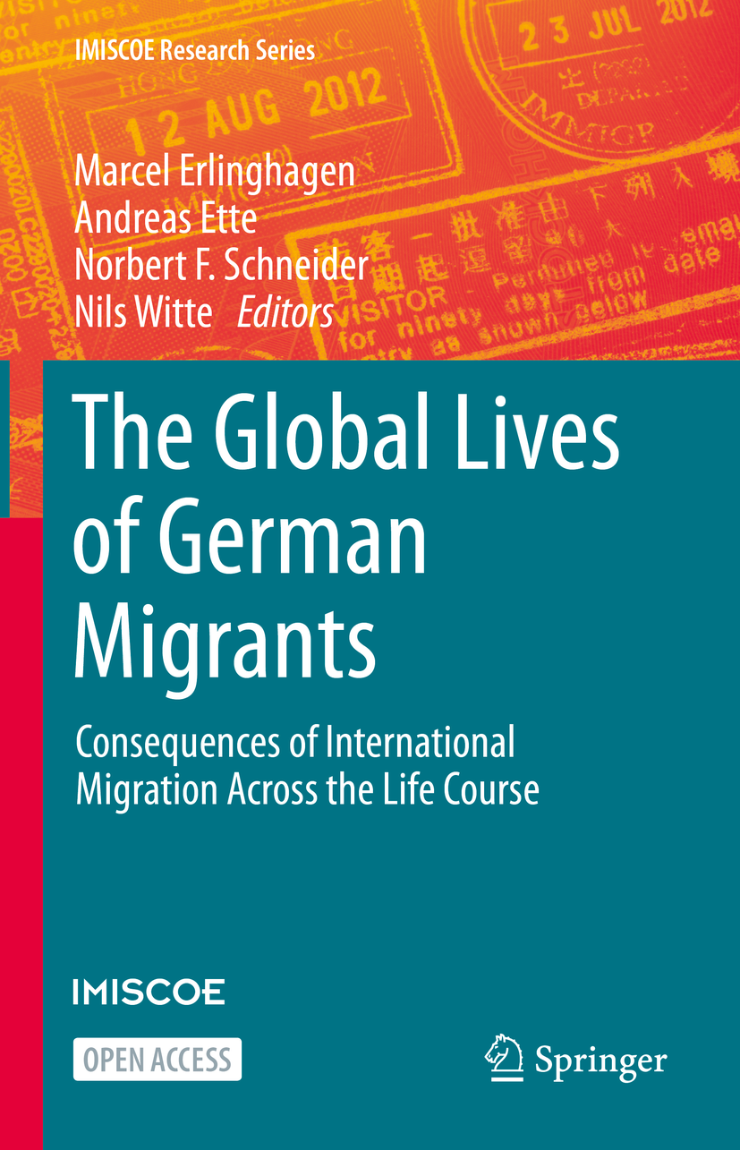Cover of The Global Lives of German Migrants