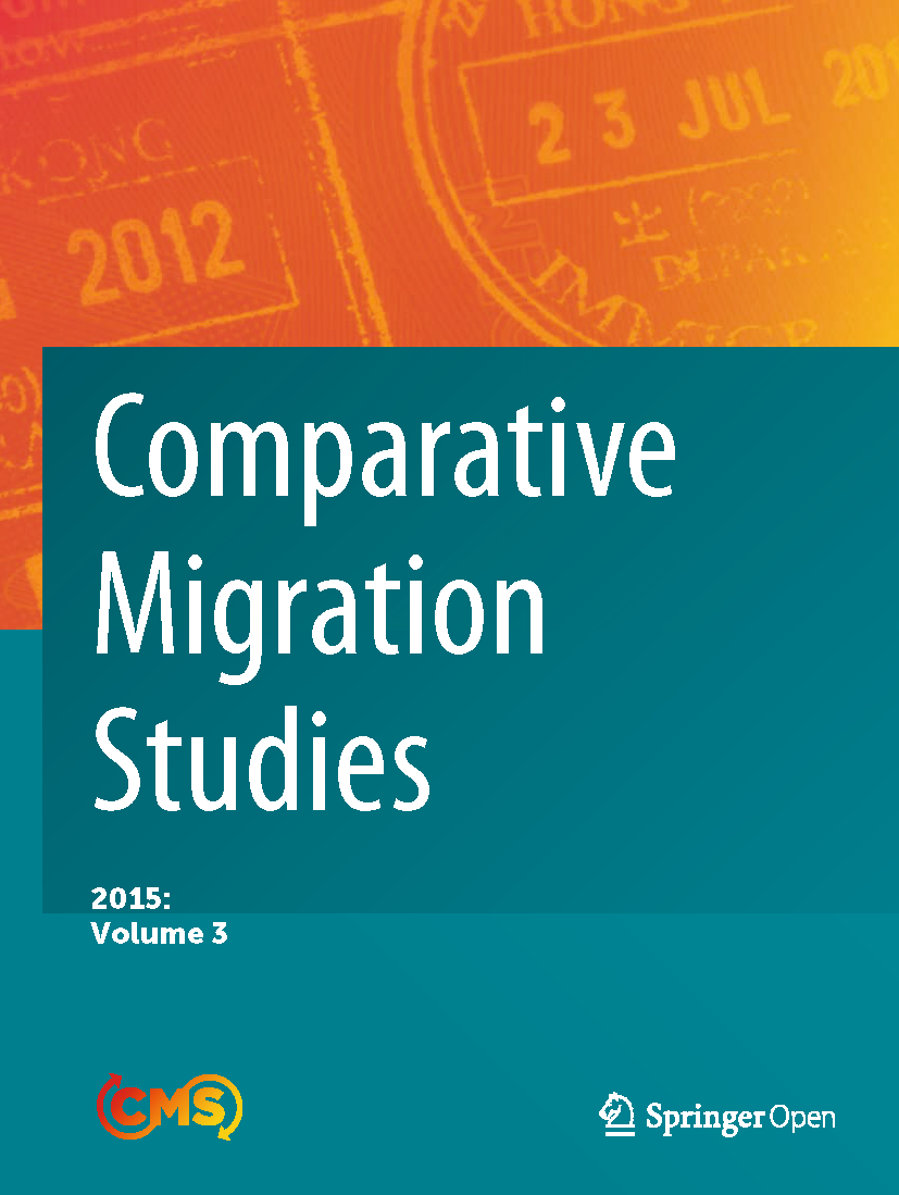 Cover of Comparative Migration Studies, Volume 3