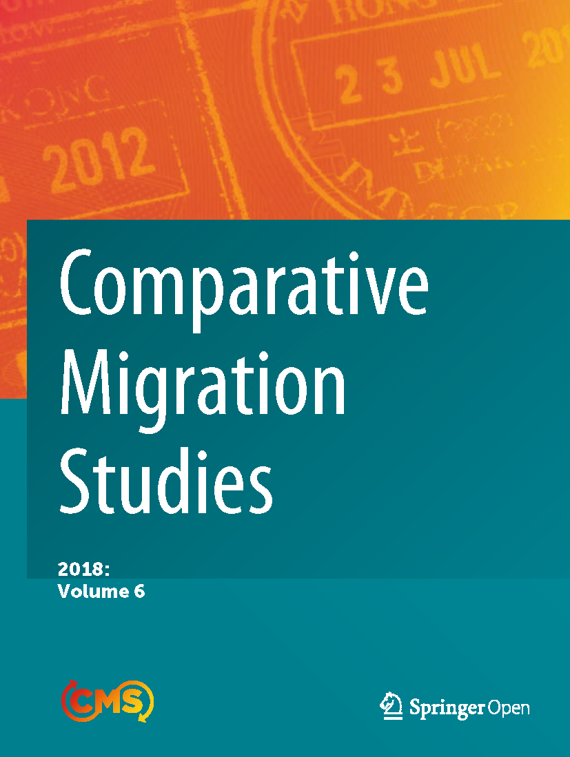 Cover of Comparative Migration Studies, Volume 6