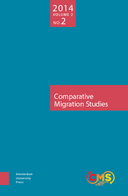 Cover of Comparative Migration Studies, Vol. 2, No. 2