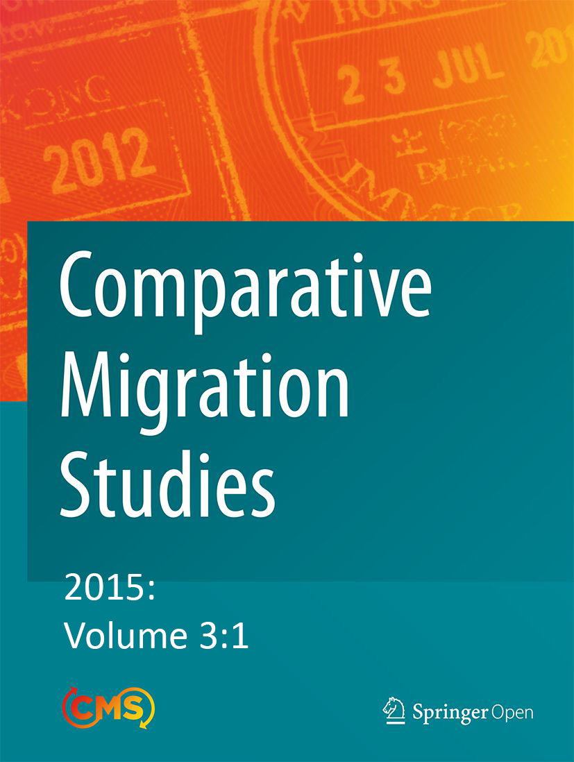 Cover of Comparative Migration Studies, Vol. 3, No. 1