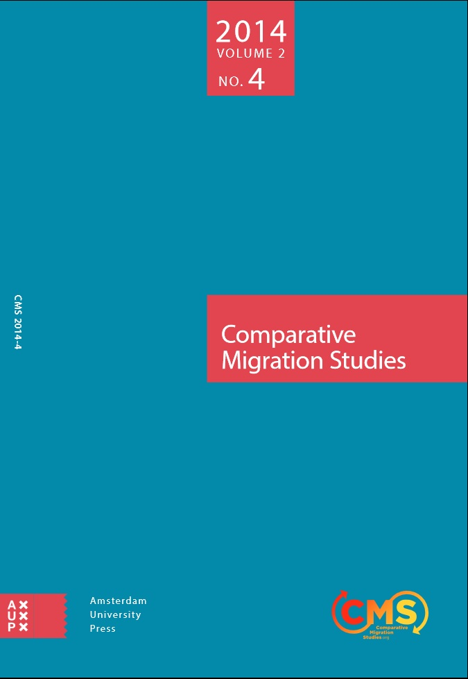 Cover of Comparative Migration Studies, Vol. 2, No. 4