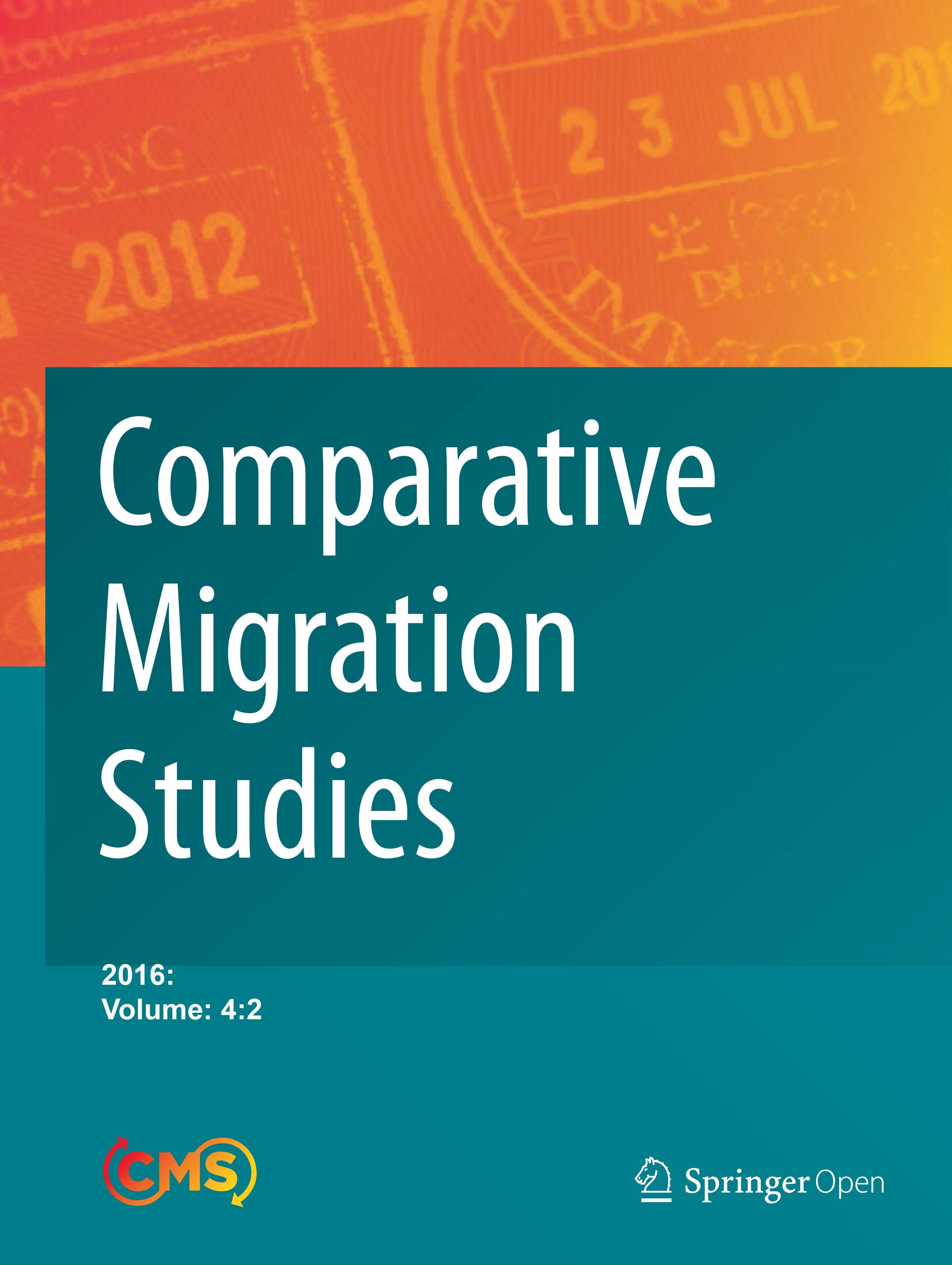 Comparative Migration Studies, Vol. 4, No. 2