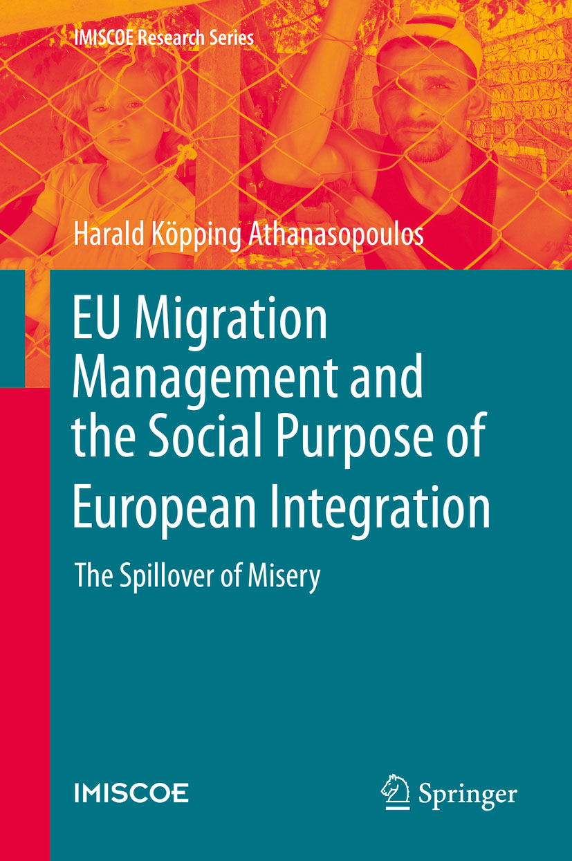Cover of EU Migration Management and the Social Purpose of European Integration