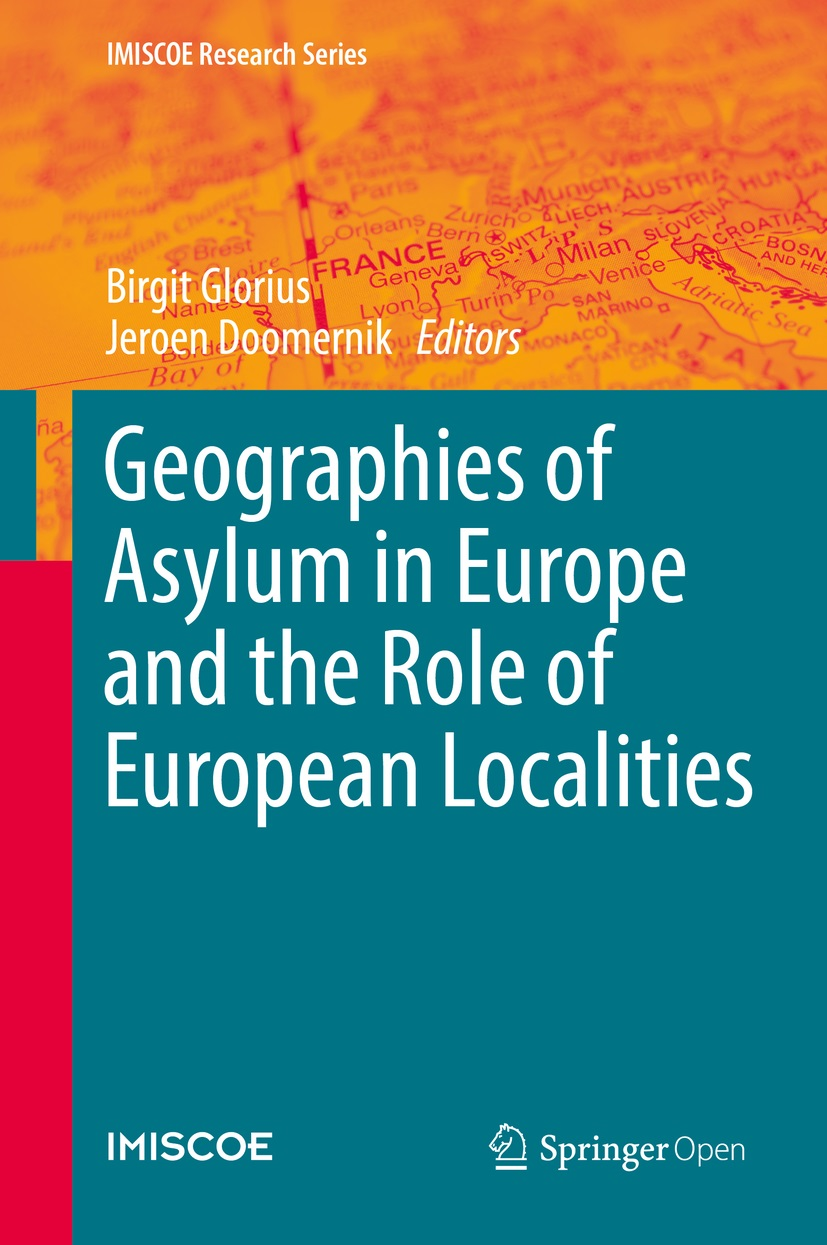 Cover of Geographies of Asylum in Europe and the Role of European Localities