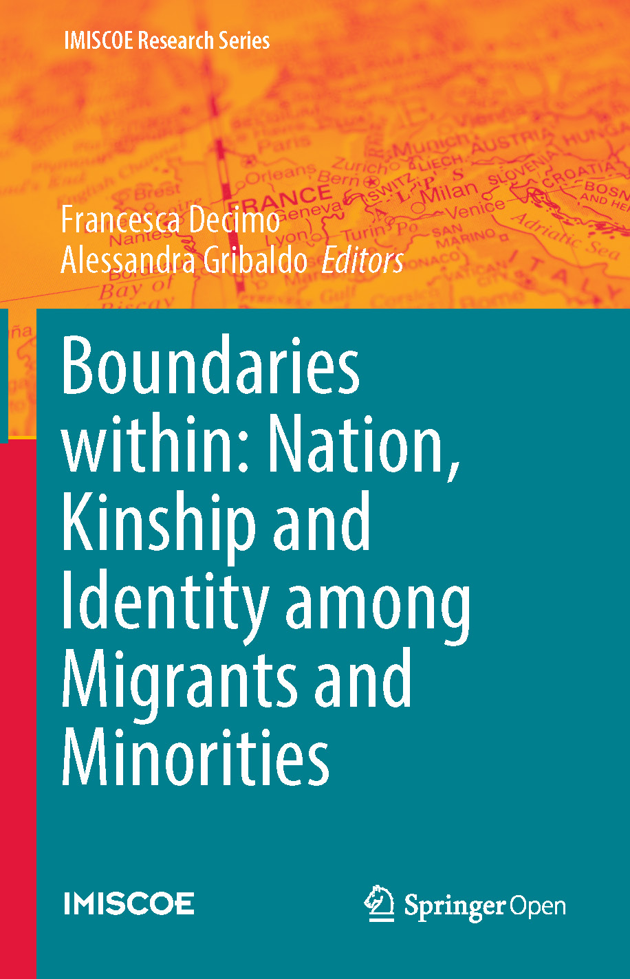 Cover of Boundaries within: Nation, Kinship and Identity among Migrants and Minorities