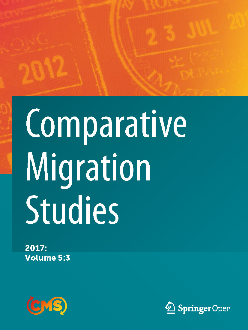 Cover of Comparative Migration Studies, Vol. 5, No. 3