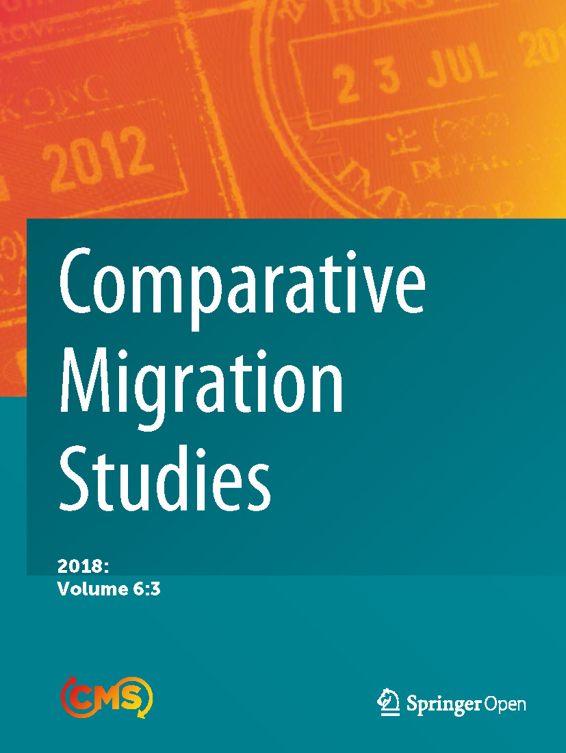 Cover of Comparative Migration Studies, Vol. 6, No 3