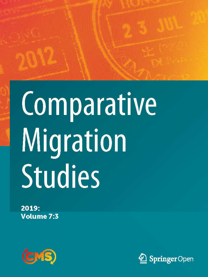 Cover of Comparative Migration Studies, Vol. 7, No. 3