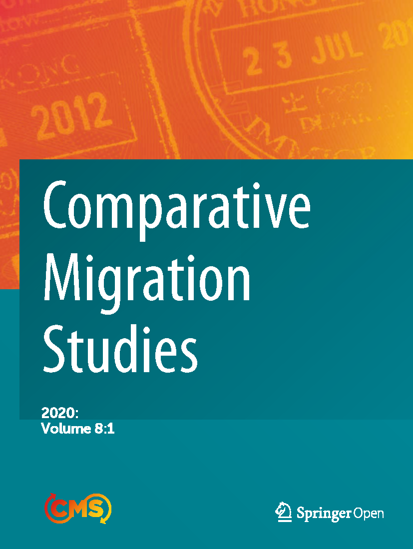 Cover of Comparative Migration Studies, Vol. 8, No. 1
