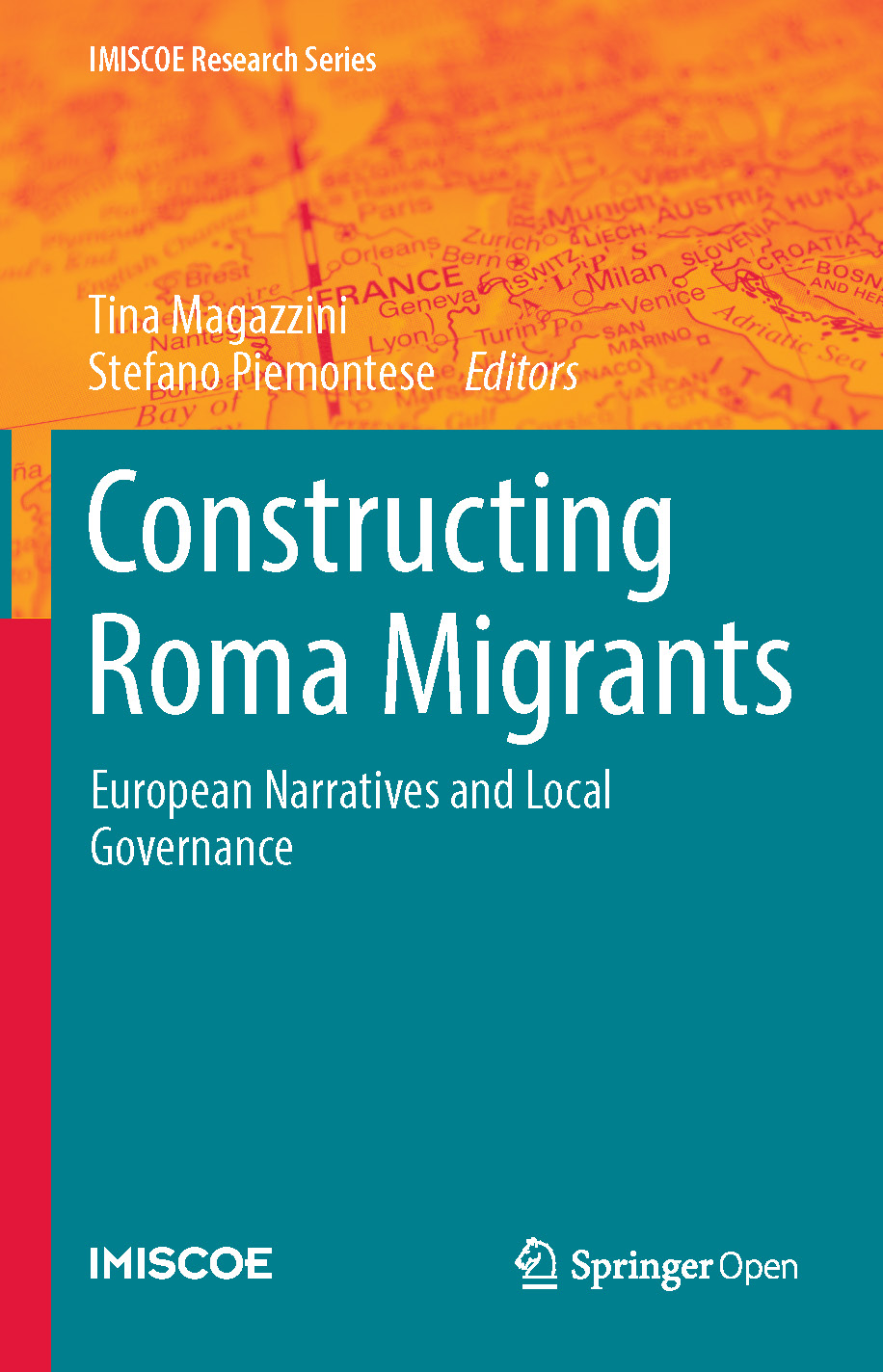 Cover of Constructing Roma Migrants