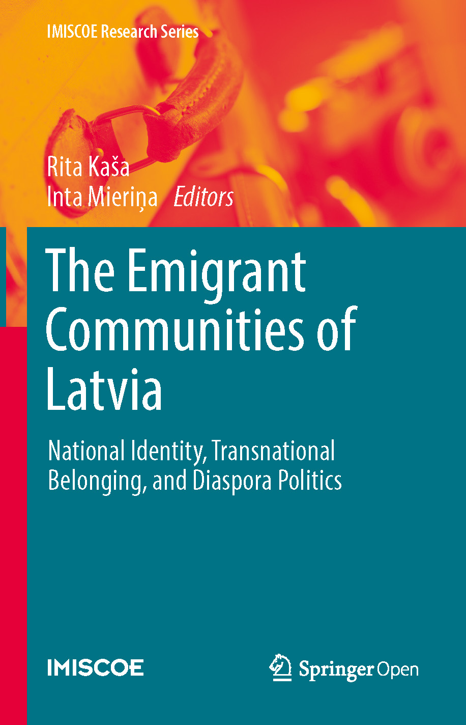 Cover of The Emigrant Communities of Latvia