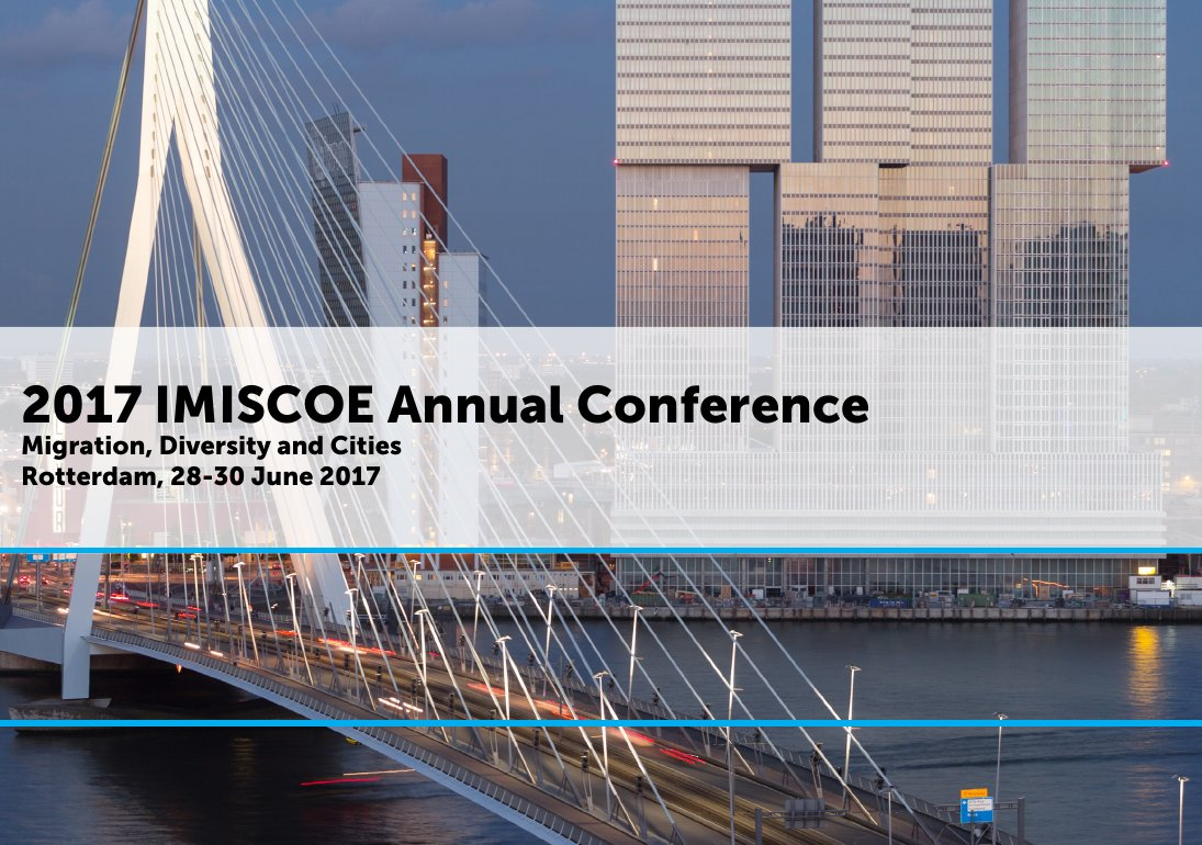 IMISCOE Annual Conference 2017 Rotterdam