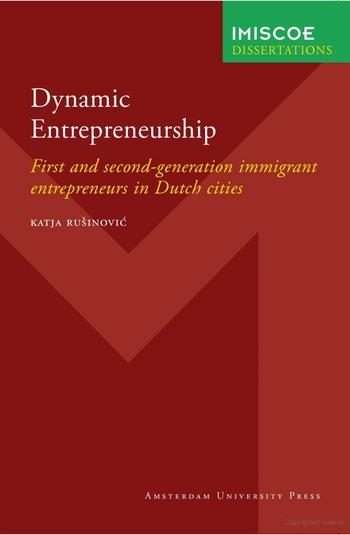 Cover of Dynamic Entrepreneurship