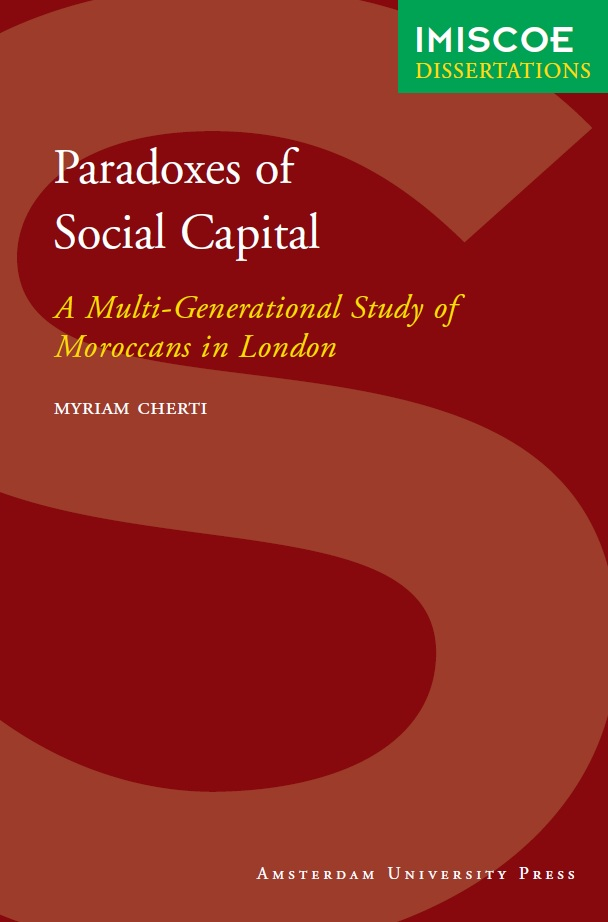 Cover of Paradoxes of social capital