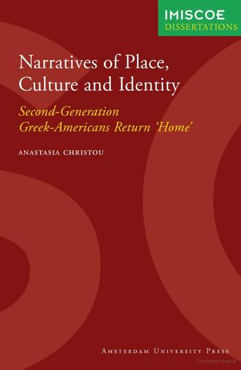 Cover of Narratives of place, culture and identity