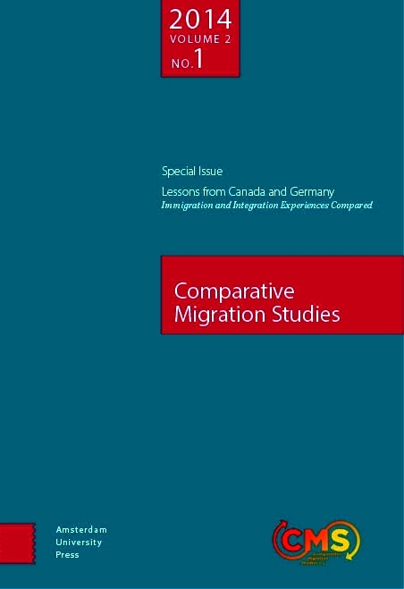 Cover of Comparative Migration Studies, Vol. 2, No. 1
