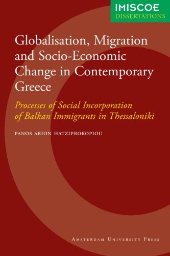 Cover of Globalisation, migration and socio-economic change in contemporary Greece