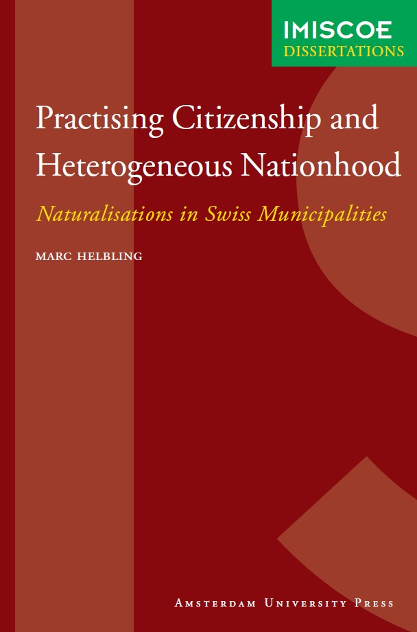 Cover of Practising citizenship and heterogeneous nationhood