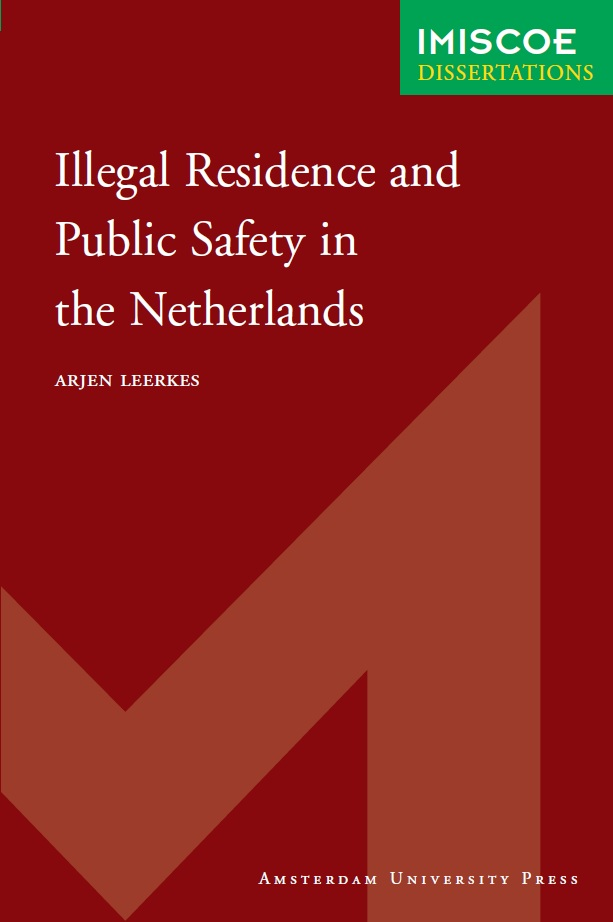 Cover of Illegal residence and public safety in the Netherlands