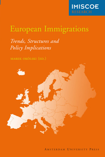 Cover of European Immigrations