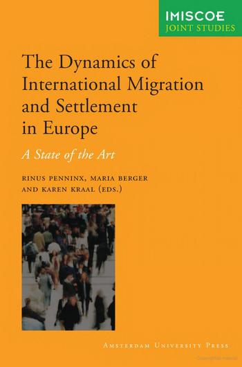 Cover of The Dynamics of Migration and Settlement in Europe