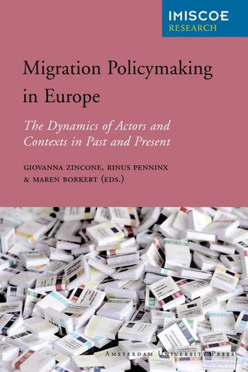 Cover of Migration Policymaking in Europe