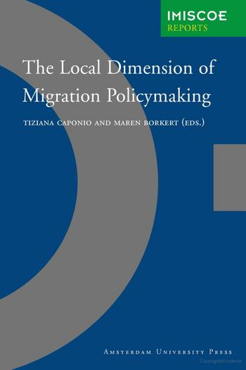 Cover of The local dimension of migration policymaking